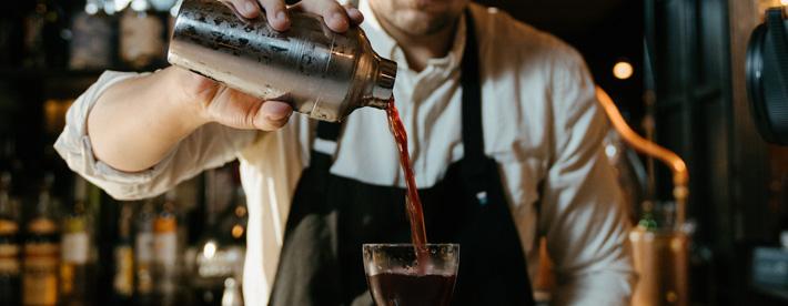 Vegan Cocktails Bar Staff